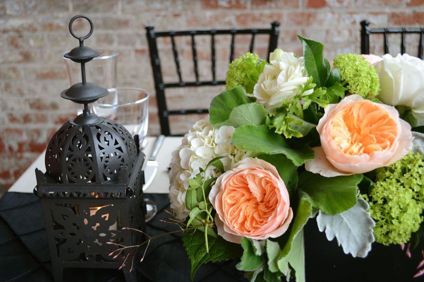 Tablescape flower design