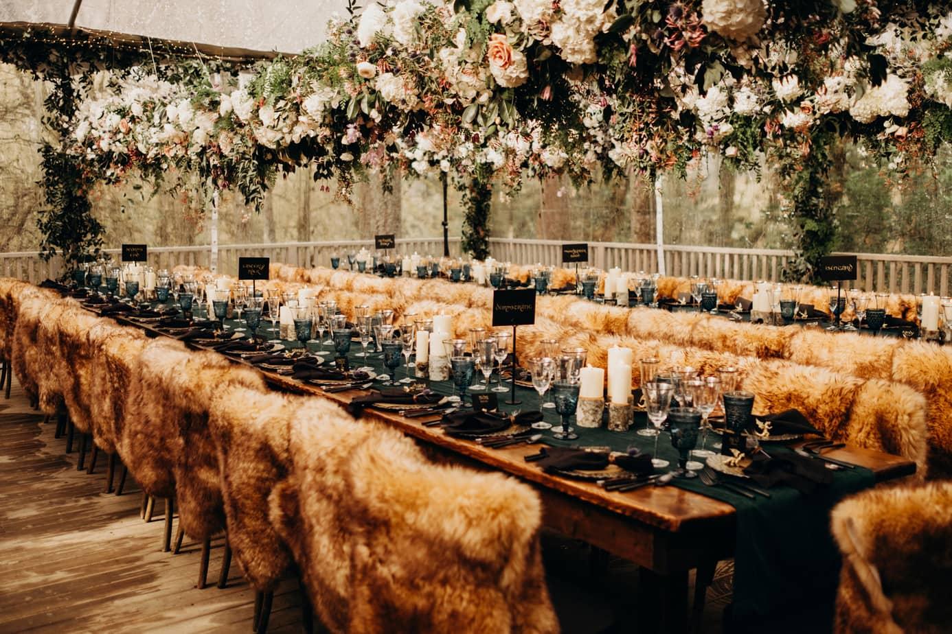 Oregon woodland wedding