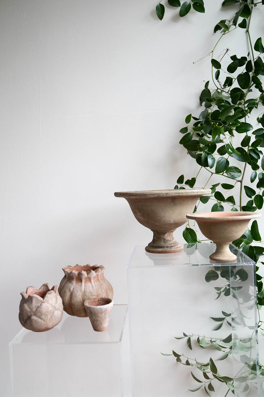 Aged Terra Cotta Pots & Vases