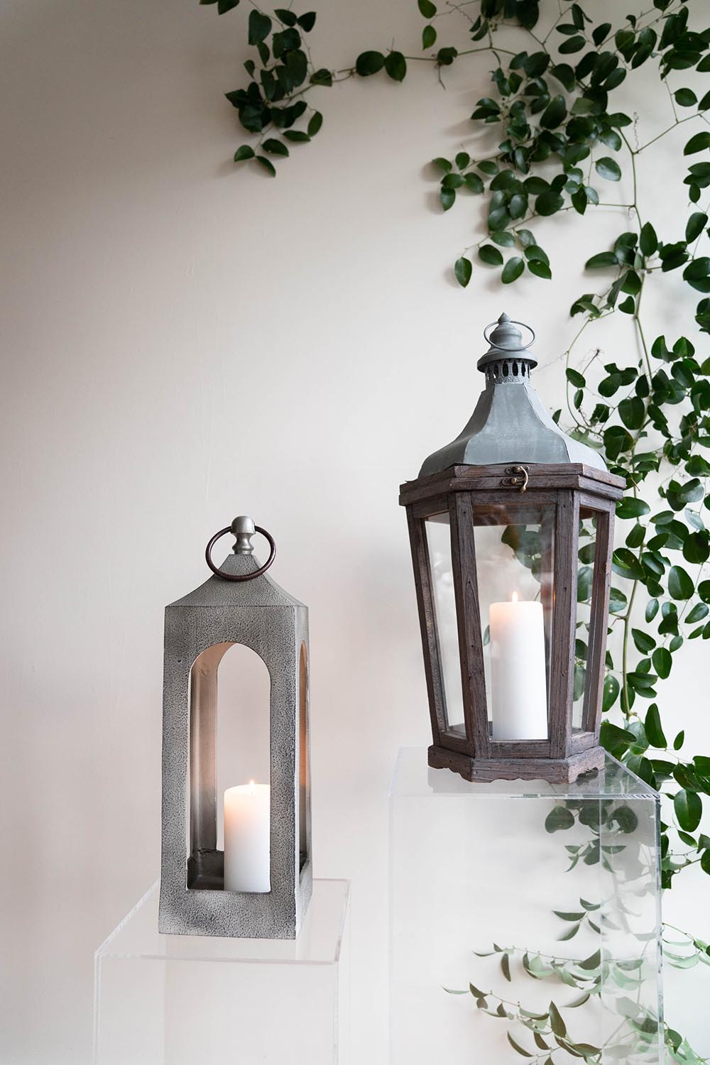Cast iron and Park Hill Lanterns