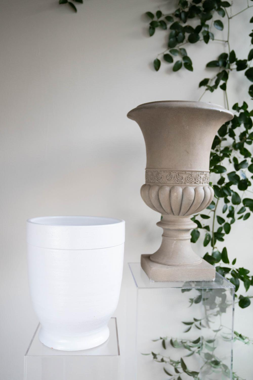 Large ceramic urns