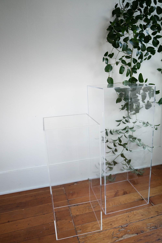 Acrylic Pedestals