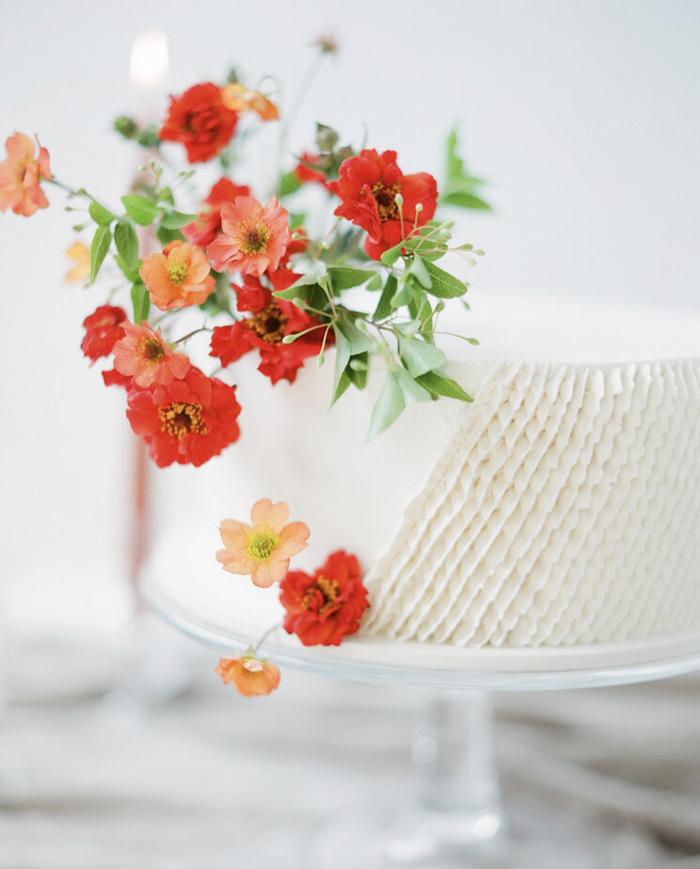 floral cake design 2